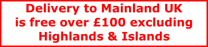 Delivery to Mainland UK